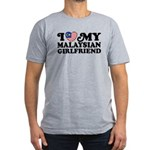 I Love My Malaysian Girlfriend Men's Fitted T-Shir