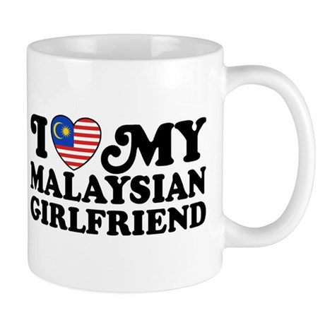 I Love My Malaysian Girlfriend Mug