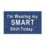 Smart 35x21 Wall Decal
