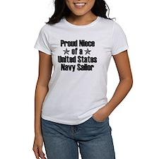 Proud Navy Niece Star Tee