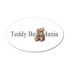 Teddy Bear Mania Wall Decal