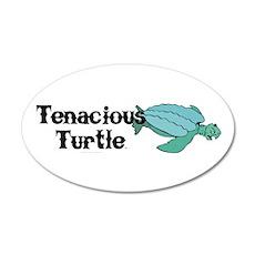 Tenacious Turtle Wall Decal