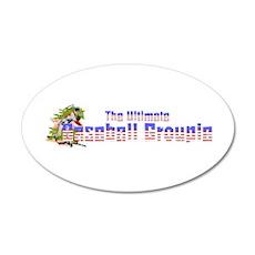Baseball Groupie Wall Decal