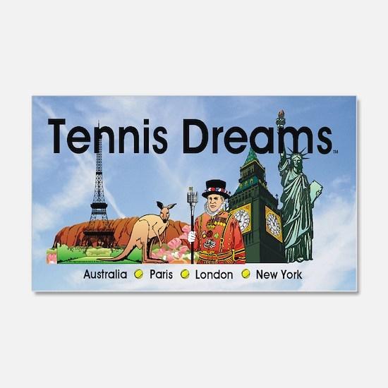 TOP Tennis Dreams Wall Decal