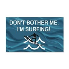Surfing Slogan Wall Decal