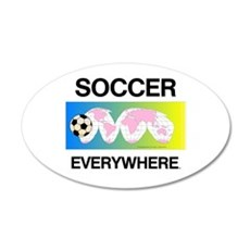 Soccer Everywhere Wall Decal