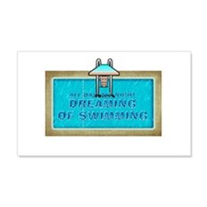 Dreaming of Swimming Wall Decal