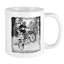 Fun in the woods dirt biking Mug