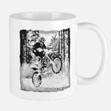 Fun In The Woods Dirt Biking Mug Mugs