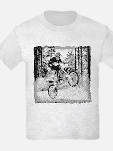 Fun in the woods dirt biking T-Shirt
