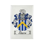 Sbarra Family Crest Rectangle Magnet (10 pack)