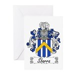 Sbarra Family Crest  Greeting Cards (Pk of 10)