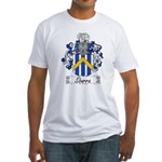 Sbarra Family Crest  Fitted T-Shirt