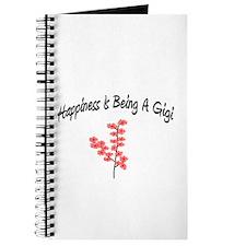 Funny Great grandma (happiness) Journal