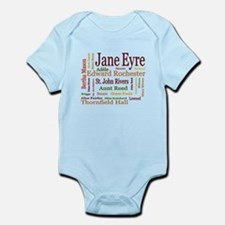 Jane Eyre Characters Infant Bodysuit