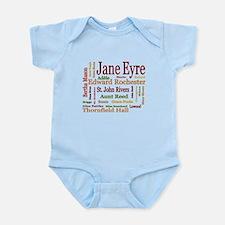 Jane Eyre Characters Onesie