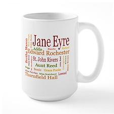 Jane Eyre Characters Mug