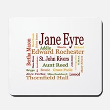 Jane Eyre Characters Mousepad