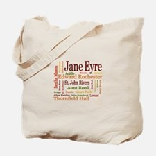 Jane Eyre Characters Tote Bag