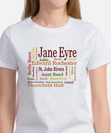 Jane Eyre Characters Women's T-Shirt