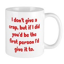 Don't Give a Crap Mug
