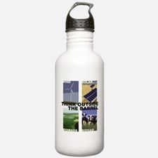 Think Outside the Barrel Water Bottle