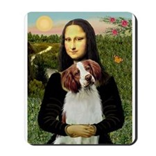 Mona & her Brittany Mousepad