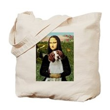 Mona & her Brittany Tote Bag