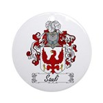 Sauli Coat of Arms Ornament (Round)