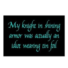 Knight in Shining Armor Postcards (Package of 8)