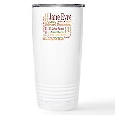 Jane Eyre Characters Travel Mug