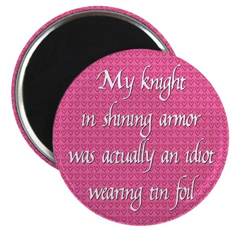 "Knight in Shining Armor 2.25"" Magnet (100 pack)"