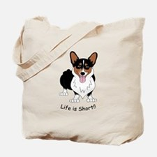 Tri-Colored Corgi Tote Bag
