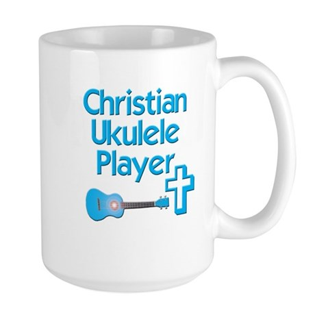 Christian Ukulele Large Mug