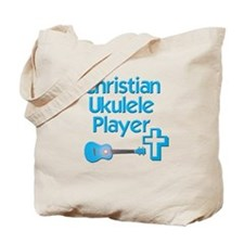 Christian Ukulele Tote Bag