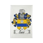 Sassi Family Crest Rectangle Magnet (10 pack)