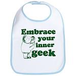 Embrace Your Inner Geek Bib