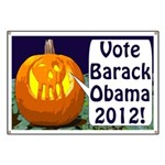 Pumpkins for Obama 2012 Banner