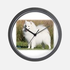 Japanese Spitz 9Y576D-261 Wall Clock
