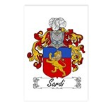 Sardi Family Crest Postcards (Package of 8)