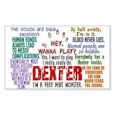 Best Dexter Quotes Decal