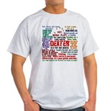 Dexter showtime Mens Light T-shirts