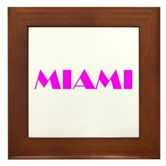 MIAMI Framed Tile