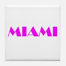 MIAMI Tile Coaster