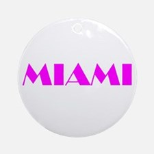 MIAMI Ornament (Round)