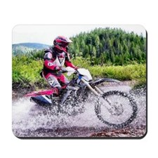 """Mountain Trail Riding"" Mousepad"