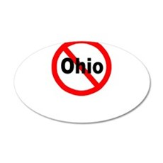 Ohio 22x14 Oval Wall Peel