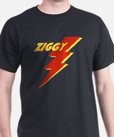 ZIGGY Black T-Shirt