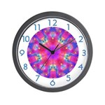 "MANDALA SERIES:  ""Let's Play"" Wall Clock"