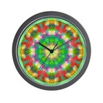 CRYSTAL MANDALA SERIES: Crystal Wall Clock Wall Cl